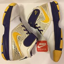 Nike Zoom Kobe 2 II Sz 12 OG Purple Varsity Maize Yellow White 316022-171 Home