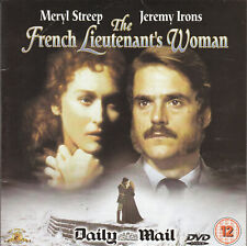 THE FRENCH LIEUTENANT'S WOMAN DAILY MAIL - promo DVD