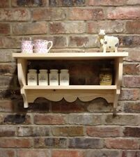 *PAINT YOUR OWN* Shabby Chic/Country Kitchen/Cabinet/shelf Unit/wall Unit
