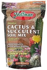 Hoffman 10404 Organic Cactus and Succulent Soil Mix, 4 Quarts