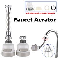 Filter Swivel Head 360 Degree Nozzle Water Bubbler Extender Faucet Aerator