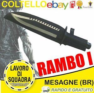 Coltello John Rambo 1 First Blood Part I Caccia Pesca Marina Militare Outdoor