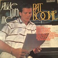 FIRST PRESS? - Abide With Me, Pat Boone, Vinyl. 2870400-1. EX/NM. 2nd Post