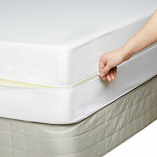 Fully Encased Zipped Waterproof Mattress Protector 25cm deep  All Sizes