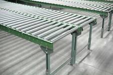 "Roller Conveyor - Steel Frame - 18""W on 1.5"" centers"