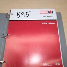 Case International 595 Tractor Parts Manual Book Catalog Spare List 8 7132 Farm