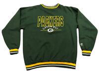 Vintage Men's Logo 7 Green Bay Packers Gameday Crewneck Sweatshirt Sz XL NFL