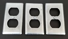 LOT OF 3 NEW RACO OUTLET COVERS
