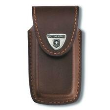 Victorinox 91mm 5-8 Layers Leather Pouch - Brown 4.0535