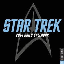Star Trek Stardate 2014 Daily Desk Calendar ALL TV Series and Films NEW SEALED