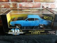 Ertl American Muscle 1971 Ford Torino Cobra 1:18 Diecast Limited Edition Car