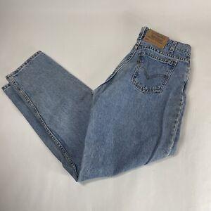 Levi Strauss 560 Vintage Jeans Size 30 x 32 Orange Tab Actual Size 28 x 31