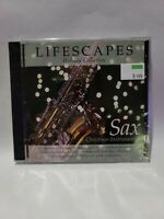 LIFESCAPES HOLIDAY COLLECTION - SAX CHRISTMAS INSTRUMENTAL CD BRAND NEW SEALED