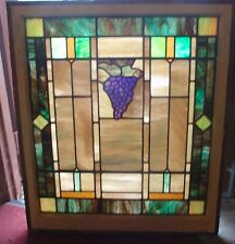 grape stained glass windows