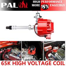 Ignition Distributor for Chevy GM SBC 350 400 BBC 454 65k Coil HEI DD-SBC-HEI-V8
