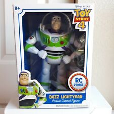 DISNEY Toy Story Buzz Lightyear Remote Control WALKING With Retractable Wings