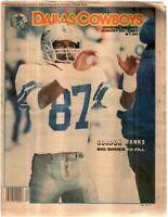 Dallas Cowboys Weekly Newspaper Aug 22, 1987 Wide Receiver Gordon Banks G