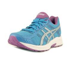 scarpe ginnastiche alte , aerobiche da donna blu tacco basso ( 1,3-3,8 cm )