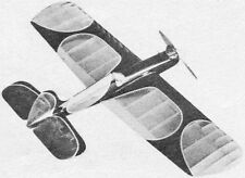 """Model Airplane Plans (UC): GAY DEVIL 42"""" Stunt for .19-.35 by Larry Scarinzi"""