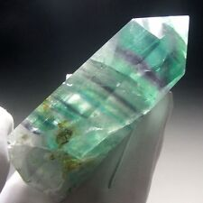 Rainbow Fluorite Crystal Point (Rod) Carving-flr0107
