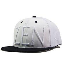 Eunoian Zen Snapback Hat NBA 10 Deep Bape Last Kings Adyn Filling Pieces White