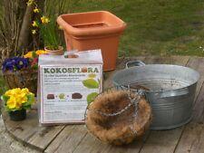 Kokoserde 70 L, Blumenerde, Pflanzerde, Anzuchterde, Kokossubstrat, Kokosflora