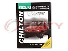 Geo Tracker Chilton Repair Manual LSi Base Shop Service Garage Book up