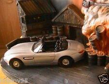 DIORAMA BMW Z8 WORLD IS NOT ENOUGH BOND 007 CORGI 1/36