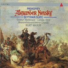 Prokofiev: Alexander Nevsky / Scythian Suite Kurt Masur Leipzig Gewandhaus Neu