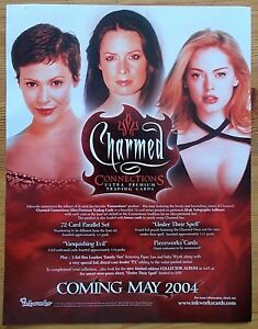Charmed Connections Trading Cards dealers sell sheet Inkworks 2004
