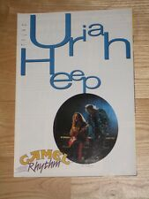 VERY RARE !!! Polish Magazine URIAH HEEP on cover