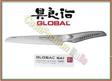 GLOBAL SAI COLTELLO PANE CM 17 /30 M04 MARTELLATO PROFESSIONALE 152117 JAPAN