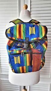 Ethnic Print Backpack