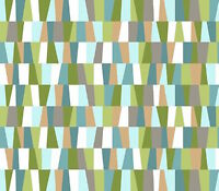 Quilting Treasures Irregular Check Teal 100% cotton fabric by the yard