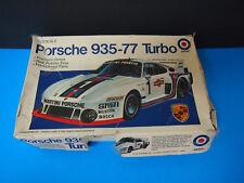 Entex Porsche Carrera Racing Model Kit Open Box 1:25 935-77 VHTF