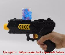 Best Water Gun Bullet Toy Pistol Soft Bullets Kids With 400pcs Crystal Balls