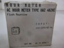 STANDCO T-41 AC HOUR METER FLUSH MOUNTING * NEW IN BOX *