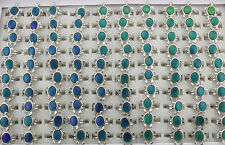 45pcs Tortoise Style Bulk Lots Mood Ring Change Color Lady's Fashion Rings AH691