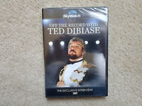 Off The Record With Ted Dibiase DVD The Exclusive Interview Skywatch TV New/Seal