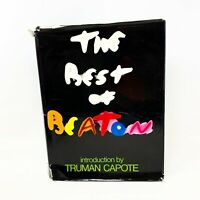 The Best of Beaton 1968 1st American edition Intro by Truman Capote Hardcover