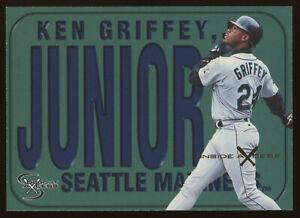 1998 SkyBox Dugout Axcess Inside Axcess Name Plates #139 Ken Griffey Jr. /50