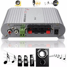 More details for 200w bass mini hifi stereo amplifier 2.1ch booster radio mp3 for car home-bling