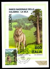 Italy 1999: Europe, National Park Sila-Official Postcard Post it.