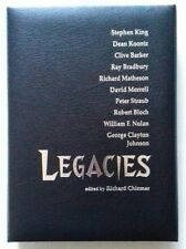 Legacies - Cemetery Dance Signed Lettered 'QQ' Deluxe Edition 1/52 Stephen King.
