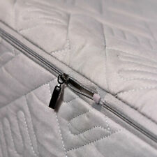Quilted Zippered Mattress Cover Protector King Twin Dustproof Soft Fitted Sheet