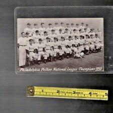 "Rare "" Philadelphia Phillies National League Champions 1950 "" photograph"
