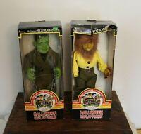 Universal Monsters - Wolfman & Frankenstein's Monster Animated Motion-ettes