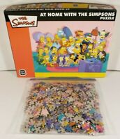 The Simpsons At Home with The Simpsons Jigsaw Puzzle 750 Pieces Complete 2010