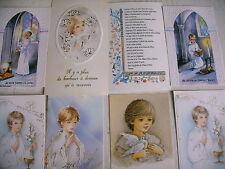 religion communion lot 20 cartes neuves communion garçon - lot 4