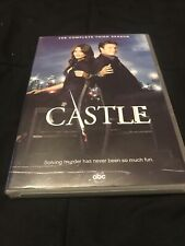 Castle: The Complete Third Season (DVD, 2011, 5-Disc Set) Good Condition